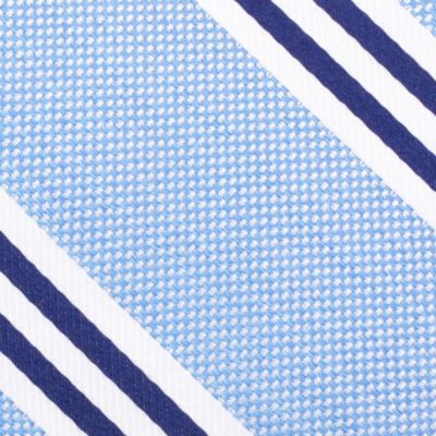Young Mens Neckties: Blue Nautica Bilge Stripe Tie