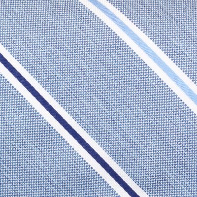 Young Mens Neckties: Navy Nautica Breakwater Stripe Tie