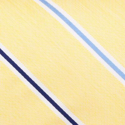 Young Mens Neckties: Yellow Nautica Breakwater Stripe Tie