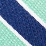 Young Mens Neckties: Green Nautica Reef Stripe Tie