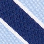 Young Mens Neckties: Blue Nautica Reef Stripe Tie