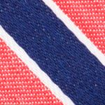 Young Mens Neckties: Red Nautica Reef Stripe Tie