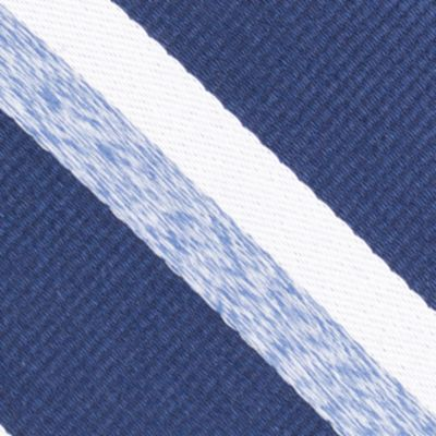 Young Mens Neckties: Navy Nautica Gondola Stripe Tie