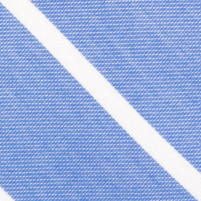 Young Mens Neckties: Blue Nautica Hammock Stripe Tie