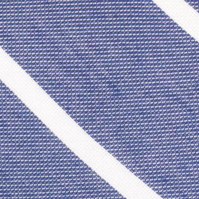 Young Mens Neckties: Navy Nautica Hammock Stripe Tie