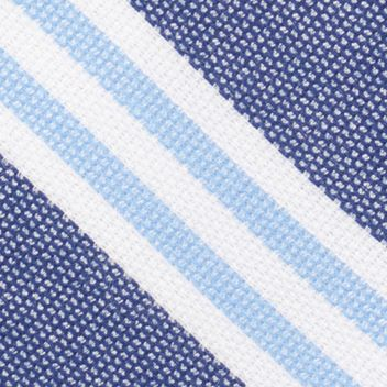 Young Mens Neckties: Blue Nautica League Stripe Tie
