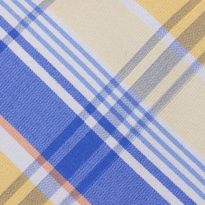 Young Men: Nautica Accessories: Yellow Nautica Steam Plaid Tie