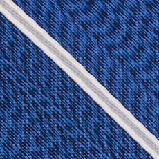 Mens Designer Ties: Silver Nautica Pearson Stripe Tie