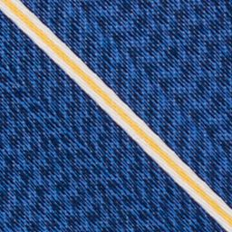 Mens Designer Ties: Yellow Nautica Pearson Stripe Tie