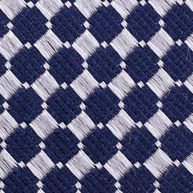 Mens Designer Ties: Silver Nautica Parker Neat Tie