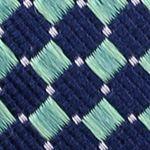 Mens Designer Ties: Green Nautica Parker Neat Tie