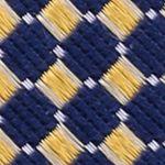 Mens Designer Ties: Yellow Nautica Parker Neat Tie