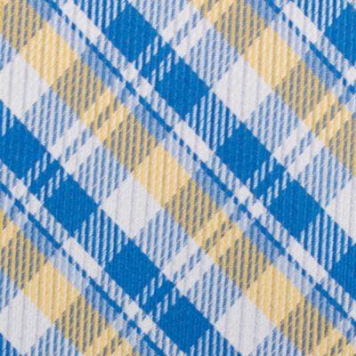 Mens Designer Ties: Yellow Nautica Stockton Plaid Tie
