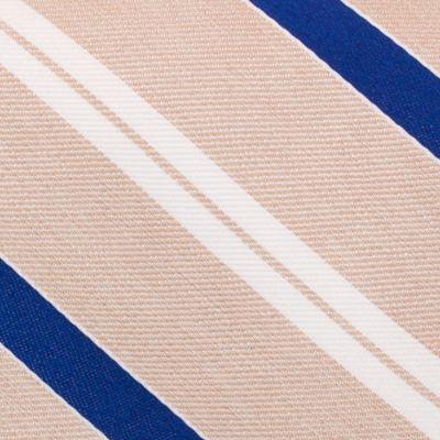 Mens Designer Ties: Taupe Nautica Rogers Stripe Tie