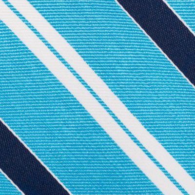 Mens Designer Ties: Aqua Nautica Rogers Stripe Tie