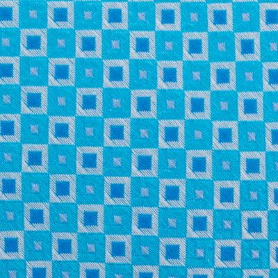 Mens Designer Ties: Aqua Nautica Adams Neat Tie