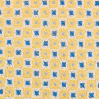 Mens Designer Ties: Yellow Nautica Adams Neat Tie