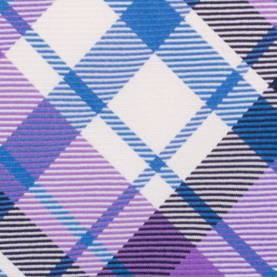 Men: Nautica Accessories: Purple Nautica Camotes Plaid Tie