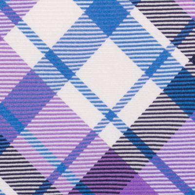 Mens Designer Ties: Purple Nautica Camotes Plaid Tie