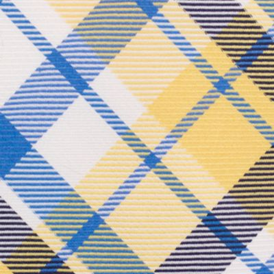 Young Men: Nautica Accessories: Yellow Nautica Camotes Plaid Tie
