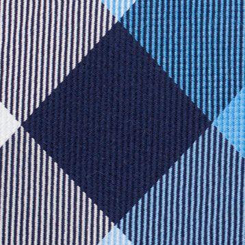Men: Nautica Accessories: Blue Nautica Pacific Plaid Tie
