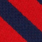Men: Nautica Accessories: Red Nautica Windfall Stripe Tie