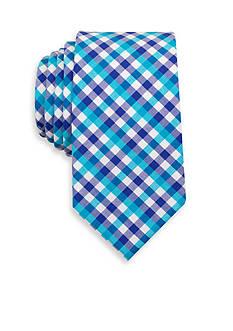 Spring Nautical Check Tie