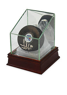 Steiner Sports™ Glass Puck Case With Ice Base