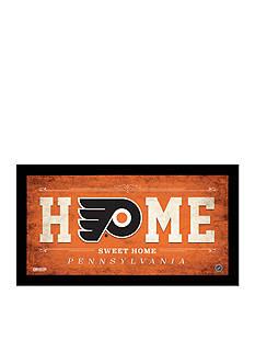 Steiner Sports™ Philadelphia Flyers Home Sweet Home Sign Framed