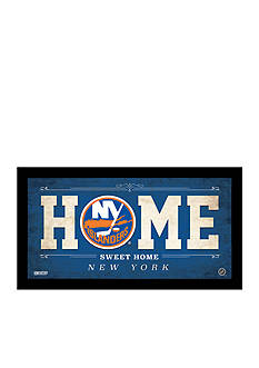 Steiner Sports™ NHL New York Islanders Home Sweet Home Sign Framed