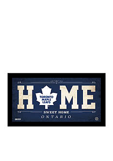Steiner Sports™ NHL Toronto Maple Leafs Home Sweet Home Sign