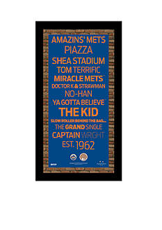 Steiner Sports™ MLB New York Mets Subway Sign