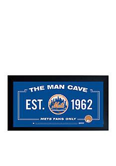 Steiner Sports™ MLB New York Mets Man Cave Sign Framed
