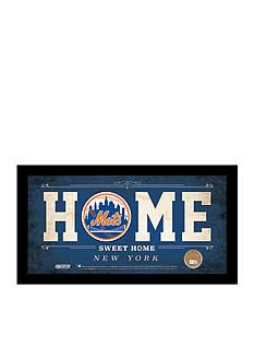 Steiner Sports™ MLB New York Mets Home Sweet Home Sign Framed