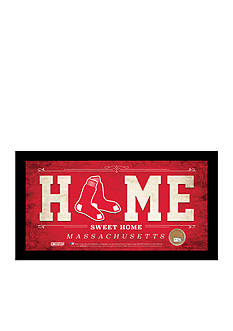 Steiner Sports™ MLB Boston Red Sox Home Sweet Home Sign With Game-Used Dirt
