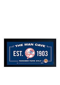 Steiner Sports™ MLB New York Yankees Man Cave Sign Framed