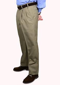 BERLE Wool Self Size Waistband Trouser