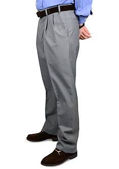 BERLE Wool Self Sizer Waistband Trousers