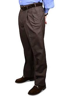 BERLE Wool Self Sizer Waistband Trouser