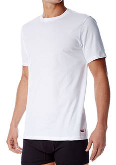 Levi's Cotton Crew Neck T-Shirt - 3 Pack
