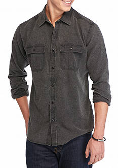 Ocean Current Tanker Burnout Button Down Shirt