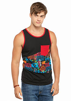 BEVEL™ Tribal Print Pocket Tank