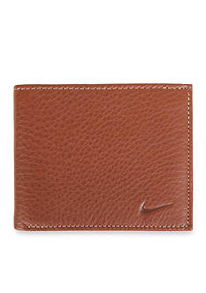 Nike Pebble Leather Billfold Wallet