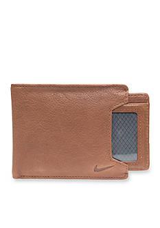 Nike Pebble Leather Billfold Wallet