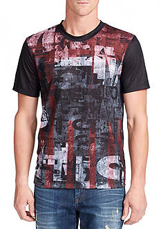 WILLIAM RAST™ Dripping Flag Graphic Tee