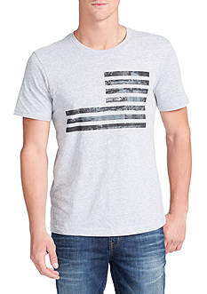WILLIAM RAST™ Textured Flag Graphic Tee