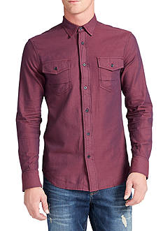 WILLIAM RAST™ Branson Long Sleeve Herringbone Shirt