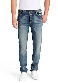 WILLIAM RAST™ Dean Slim-Fit Straight-Leg Jeans