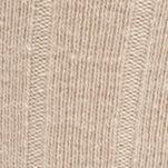 Mens Casual Socks: Khaki Saddlebred Wide Rib Crew Socks - Single Pair