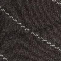 Mens Casual Socks: Gray Saddlebred Mercerized Cotton Lattice Crew Sock - Single Pair
